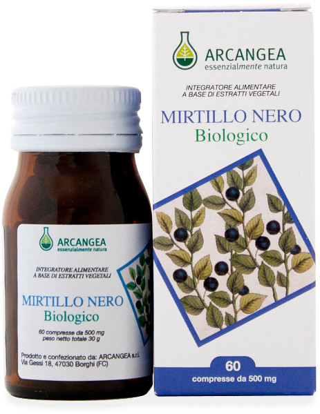 Mirtillo compresse